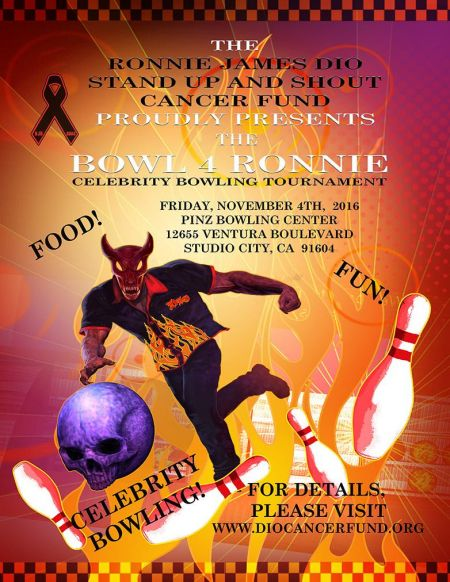 Interview: Wendy Dio discusses this year's 'Bowl 4 Ronnie' event