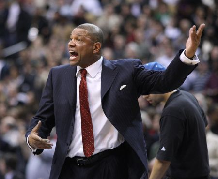 Doc Rivers earned a late ejection for his tirade in Brooklyn.