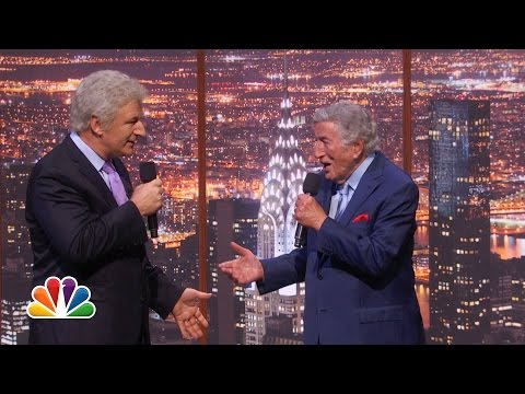 tony bennett performs at christmas at rockefeller plaza and 90th birthday special