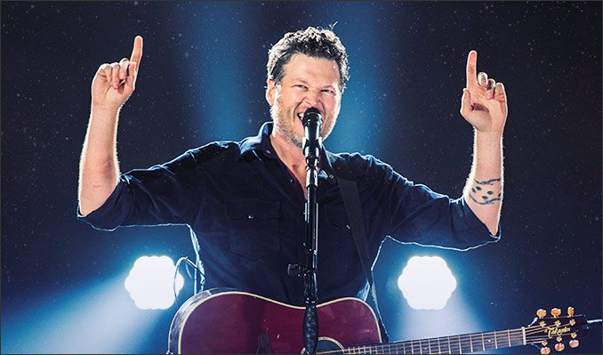 Blake Shelton tickets at Royal Farms Arena, Baltimore