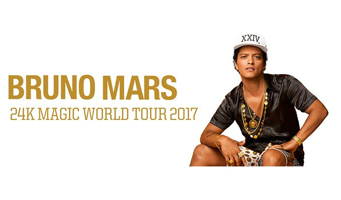 Bruno Mars: 24K Magic Tour tickets at Sprint Center in Kansas City