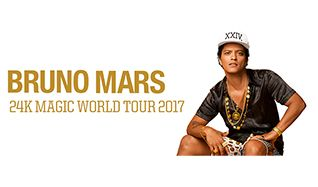 Bruno Mars: 24K Magic Tour tickets at Sprint Center in Kansas City