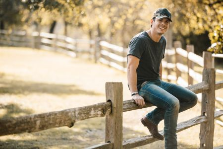 Granger Smith has been hospitalized following a stage fall.