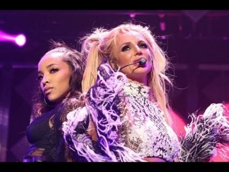 Britney Spears celebrates birthday with Tinashe and fans at KIIS-FM's Jingle Ball in L.A.
