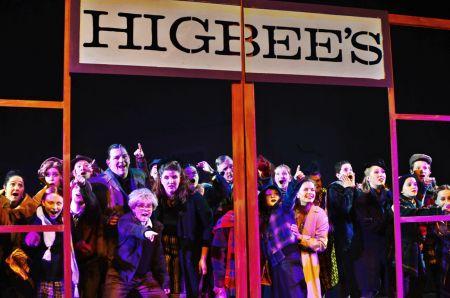A Christmas Story The Musical.Bainbridge Performing Arts Takes A Christmas Story The
