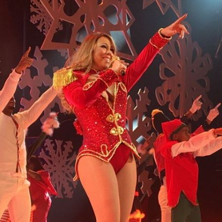 mariah carey - Mariah Carey All I Want For Christmas Live