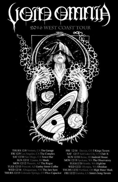 Black metal's Void Omnia kicking off West Coast tour tonight