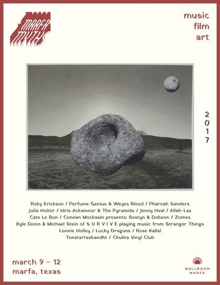 Marfa Myths festival 2017 lineup announced