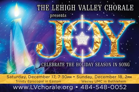 Lehigh Valley Chorale To Present Two Winter Concert Performances