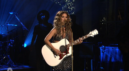 "Maren Morris performs ""My Church"" and ""80s Mercedes"" on ""Saturday Night Live."""