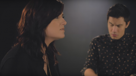 """Brandy Clark and Sam Tsui perform an acoustic version of """"Love Can Go to Hell."""""""