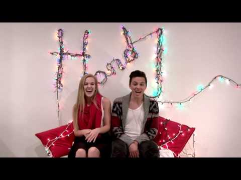 watch pop duo honey and jude re energize an nsync holiday hit