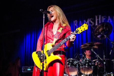 Lita Ford playing Rams Head On Stage in Annapolis, MD. Lita is back and better than ever