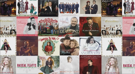 axscom investigates 22 christmas albums for the most covered songs of 2016