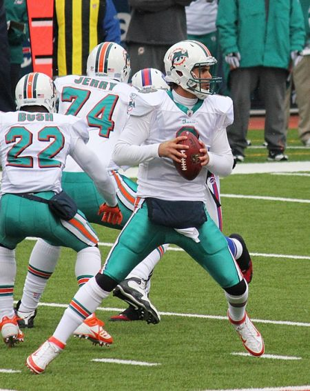 Matt Moore has to step in for Ryan Tannehill to try and beat the Jets.