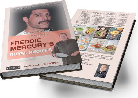 Freddie Mercury's Royal Recipes makes for the perfect holiday gift for any music of food loving friend or family member.