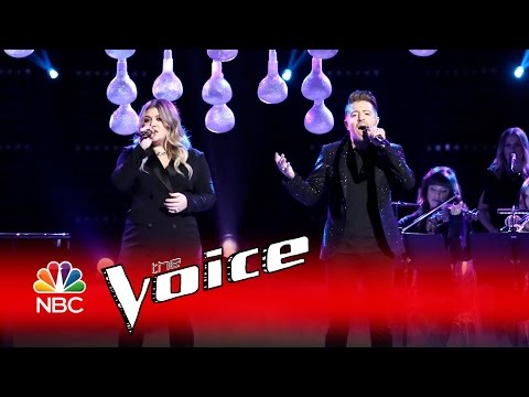 Kelly Clarkson performs 'It's Quiet Uptown' with Billy Gilman live on 'The Voice'