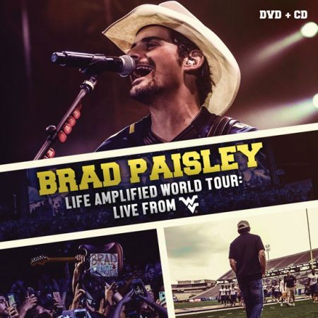 Brad Paisley to release West Virginia University concert on CD/DVD.