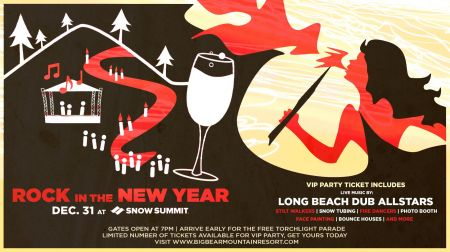 Start a new New Year's tradition this year at Big Bear
