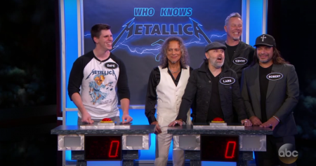 Watch: Metallica plays Metallica trivia game with superfan and destroys him