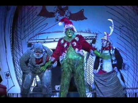 Magical DC premier of Dr. Seuss' How The Grinch Stole Christmas! The Musical at the National Theatre