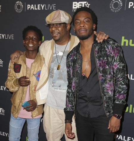 Bobby Brown joins the cast and creatives at The Paley Center for Media in Beverly Hills, on Dec. 14, to celebrate the world premiere screeni