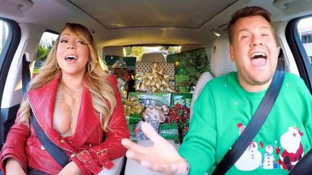 share this article watch james corden and all star cast sing all i want for christmas - All I Want For Christmas Cast