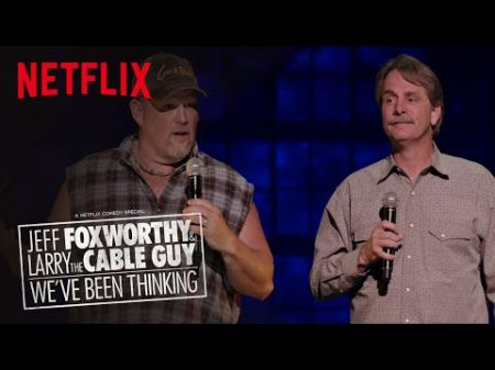 Jeff Foxworthy & Larry the Cable Guy are coming to Colorado this April