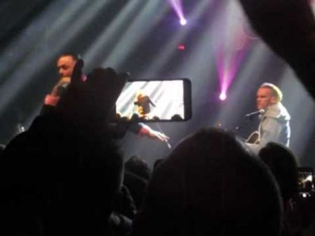 Blue October play 96.3 Christmas benefit at reopened Emerald Theatre