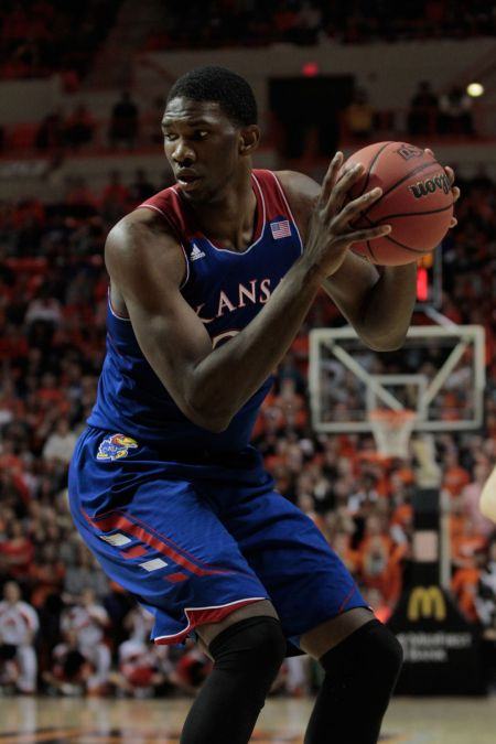 Joel Embiid has made great strides from his Kansas days.