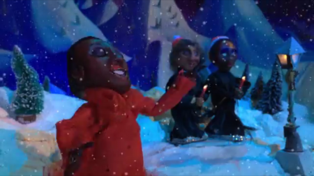 """Sharon Jones & the Dap Kings bring new life to a holiday favorite in their new claymation music video for """"Please Come Home For Christmas."""""""