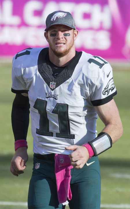 Remember when everybody was in love with Carson Wentz?