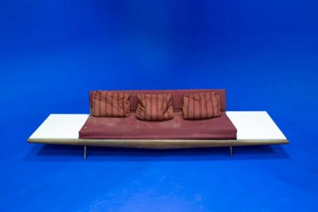 Jack White was 'contracted' to refurbish this legendary studio couch.