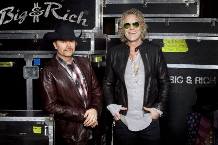 Big & Rich enlisted to headline the RIAA and Musicians on Call inaugural benefit.