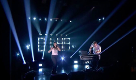 "Sylvan Esso perform ""Radio"" on The Tonight Show Starring Jimmy Fallon  on Tuesday night."