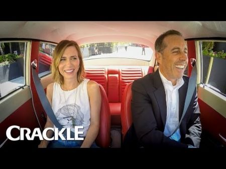 Watch Jerry Seinfeld get coffee with Kristen Wiig in new 'Comedians in Cars Getting Coffee' trailer