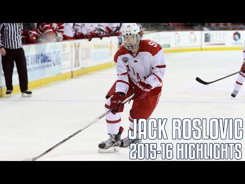 Jack Roslovic and Joseph Cecconi performing for USA at 2017 World Junior Hockey Championship