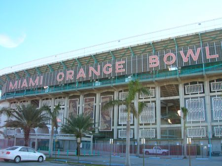 The Orange Bowl in Miami plays a special role in the history of the Colorado Buffaloes when it comes to January football. However, the Buffs