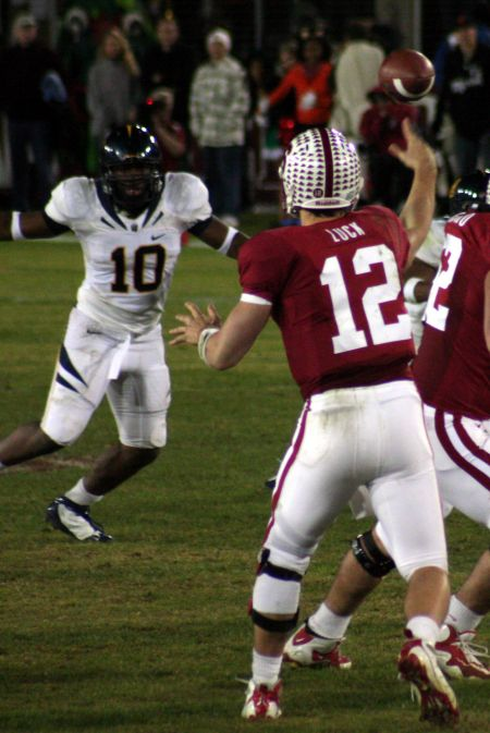 Quarterback Andrew Luck led the Cardinal to the 2011 Orange Bowl victory over the Virginia Tech Hokies, one of the top five bowl games in St