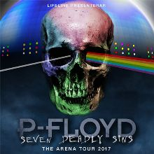 P-Floyd - Seven Deadly Sins The Arena Tour tickets at ERICSSON GLOBE/Stockholm Live in Stockholm