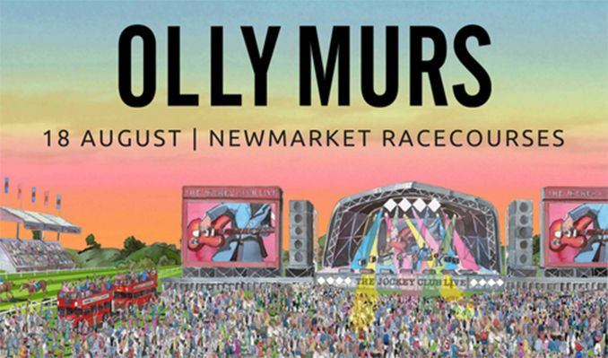 The Jockey Club Live Presents: Olly Murs tickets at Newmarket Racecourses in Newmarket