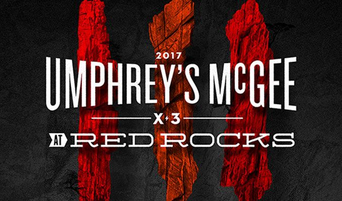 Umphrey's McGee - 3 Day Pass tickets at Red Rocks Amphitheatre in Morrison