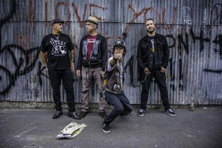 Wolves In Argyle: four guys on a mission to rock
