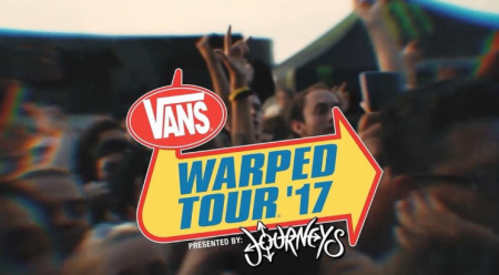 Vans Warped Tour announces 2017 schedule