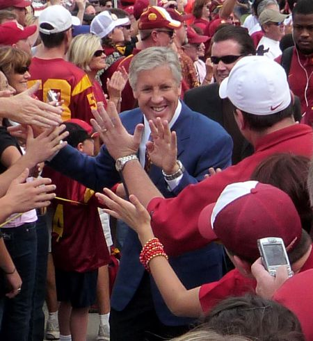 Former USC coach Pete Carroll owns four of the most impressive Trojans bowl victories in school history, and during a seven-year stretch, hi