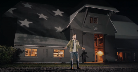 "Thomas Rhett releases ""American Spirit"" music video."