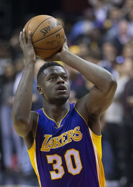 Los Angeles Lakers general manager Mitch Kupchak has high praise for third-year forward Julius Randle.