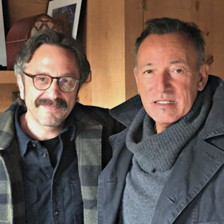 Bruce Springsteen chatted with Marc Maron on a recent episode of the WTF podcast.