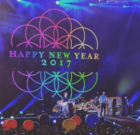 """Coldplay celebrate the New Year with their """"Amazing Day"""" video."""