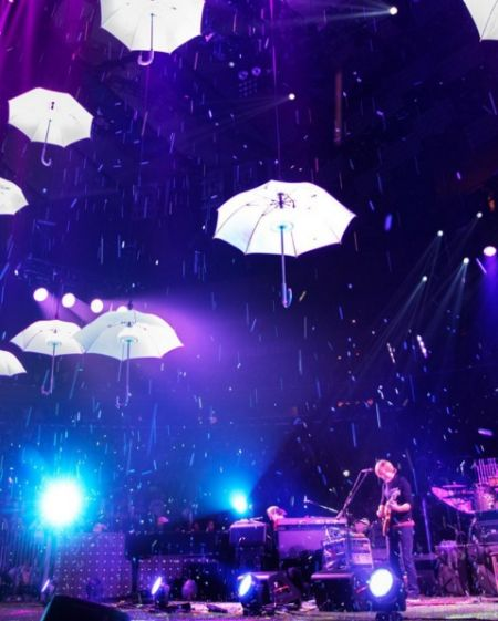 Phish and David Gallo Design made some magic happen on NYE.
